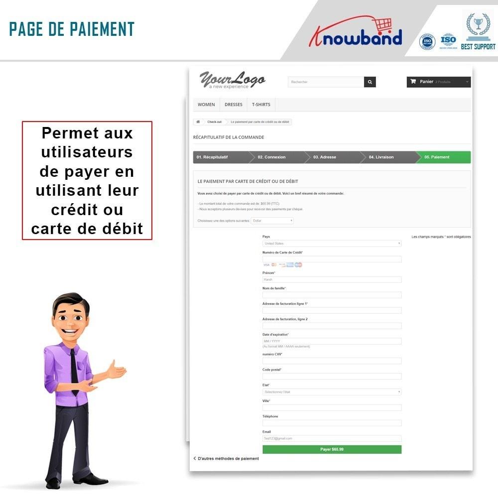 module - Paiement par Carte ou Wallet - Knowband - Paiement Direct par PayPal - 4
