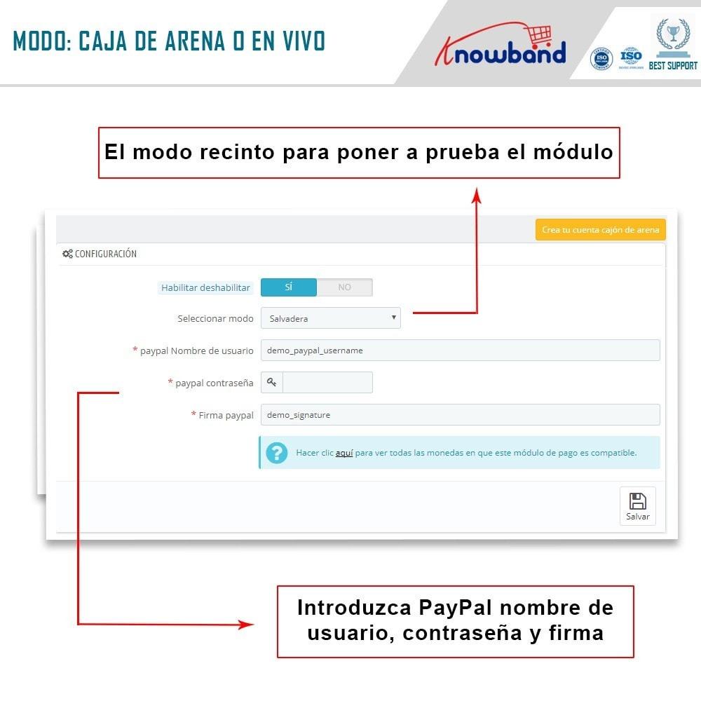 module - Pago con Tarjeta o Carteras digitales - Knowband - Pago Directo por PayPal - 2