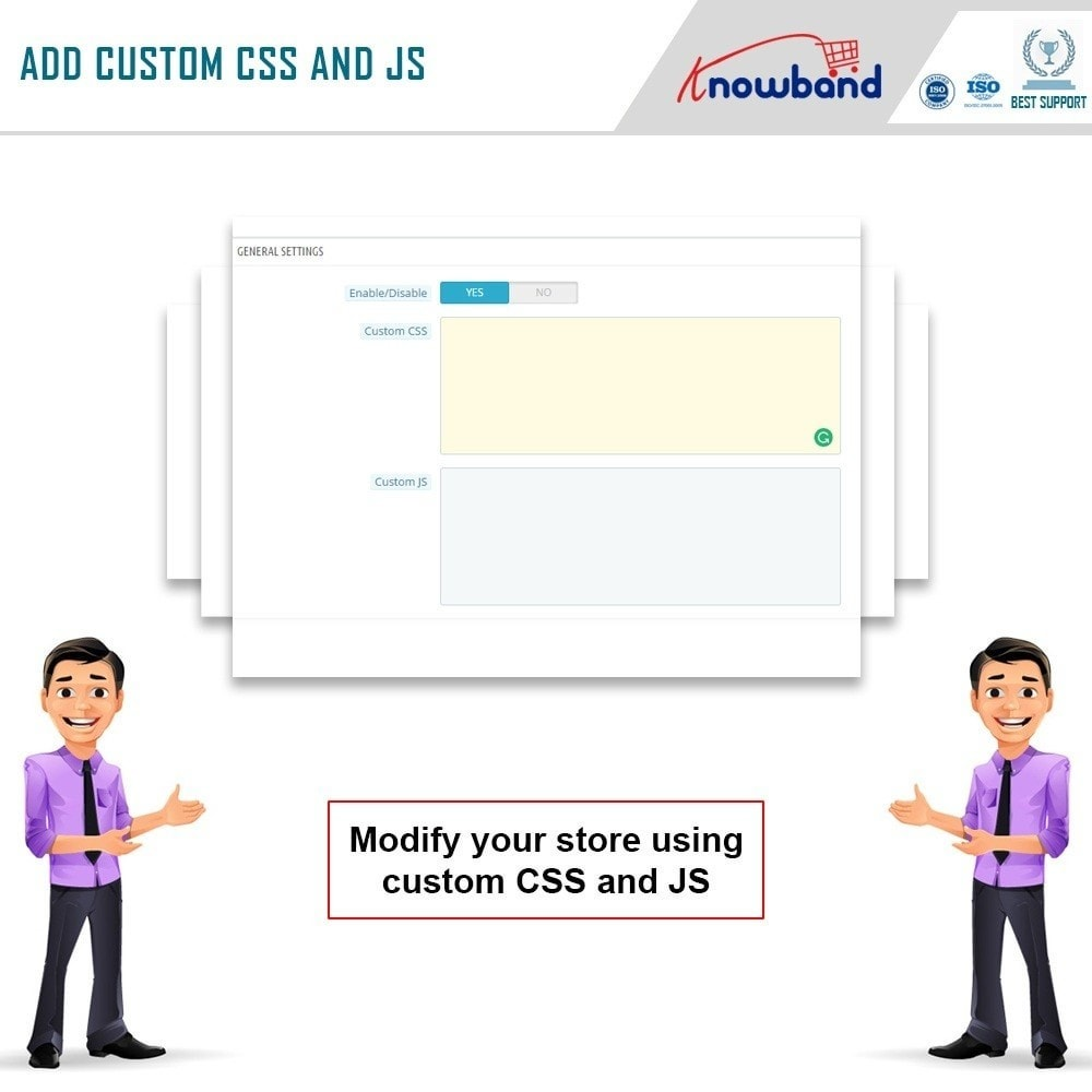 module - Page Customization - Knowband - Custom CSS and JS - 4