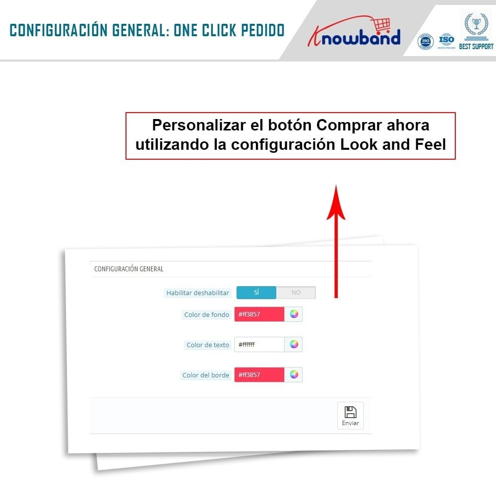module - Proceso rápido de compra - Knowband - Pago en Un Clic - 4
