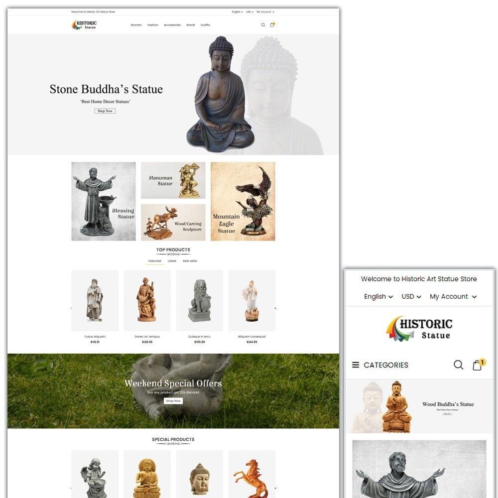 theme - Arte e Cultura - Historic Art Statue Store - 1