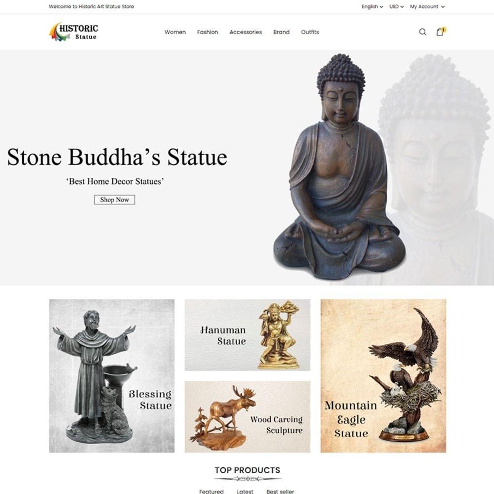 theme - Arte e Cultura - Historic Art Statue Store - 2