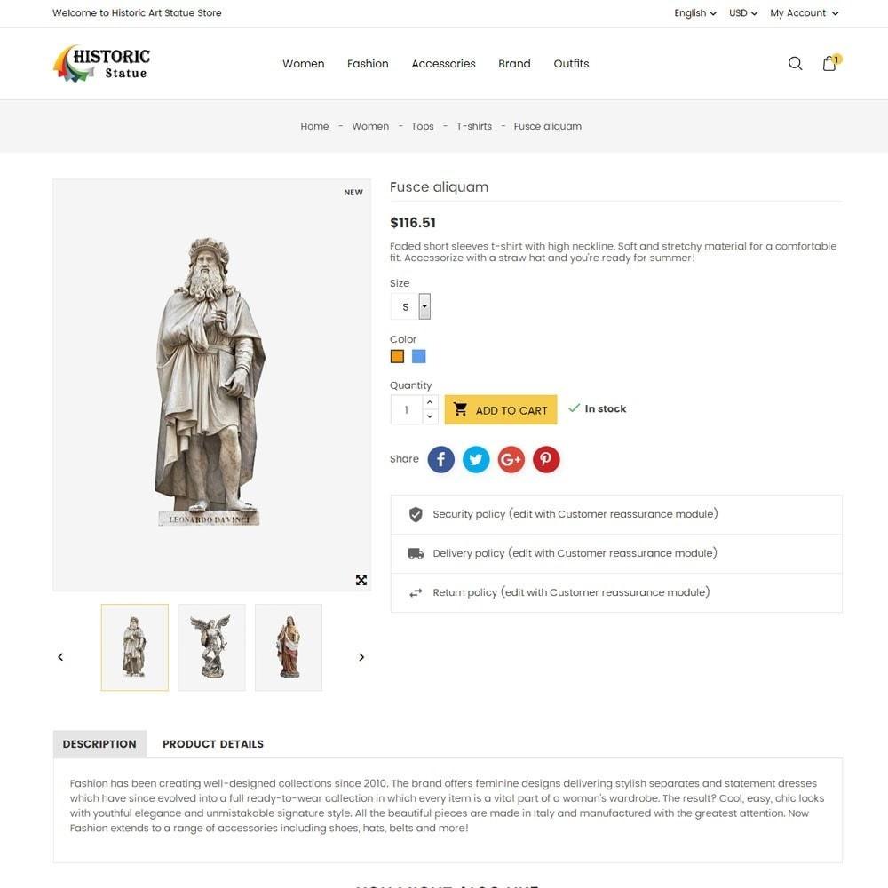 theme - Arte e Cultura - Historic Art Statue Store - 7