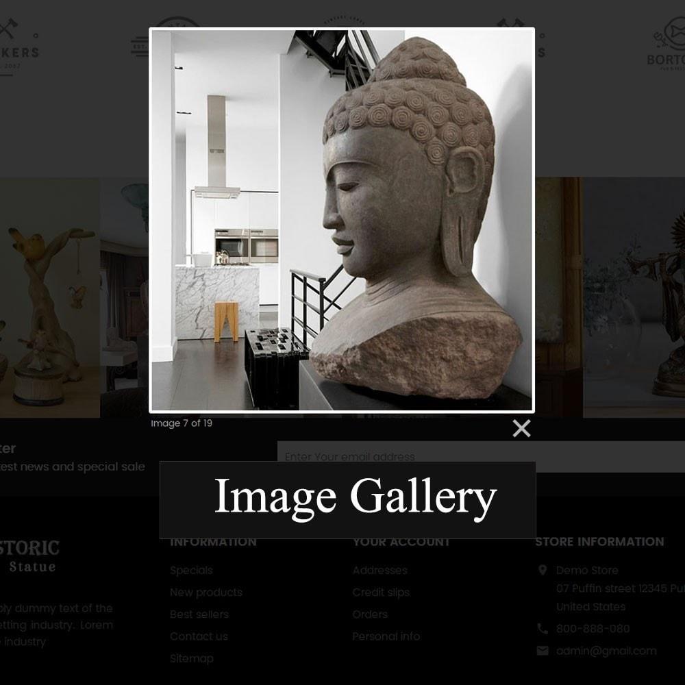 theme - Arte e Cultura - Historic Art Statue Store - 8
