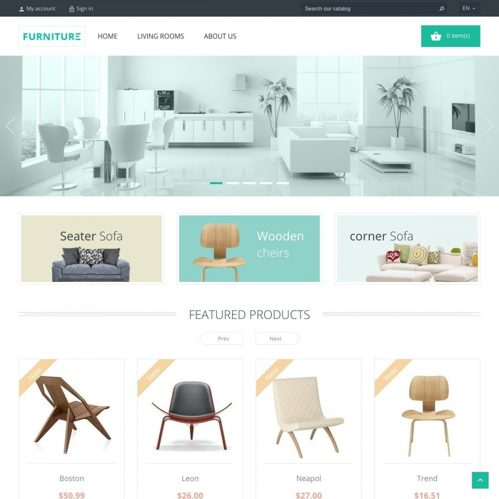theme - Casa & Giardino - Furniture Shop - 2