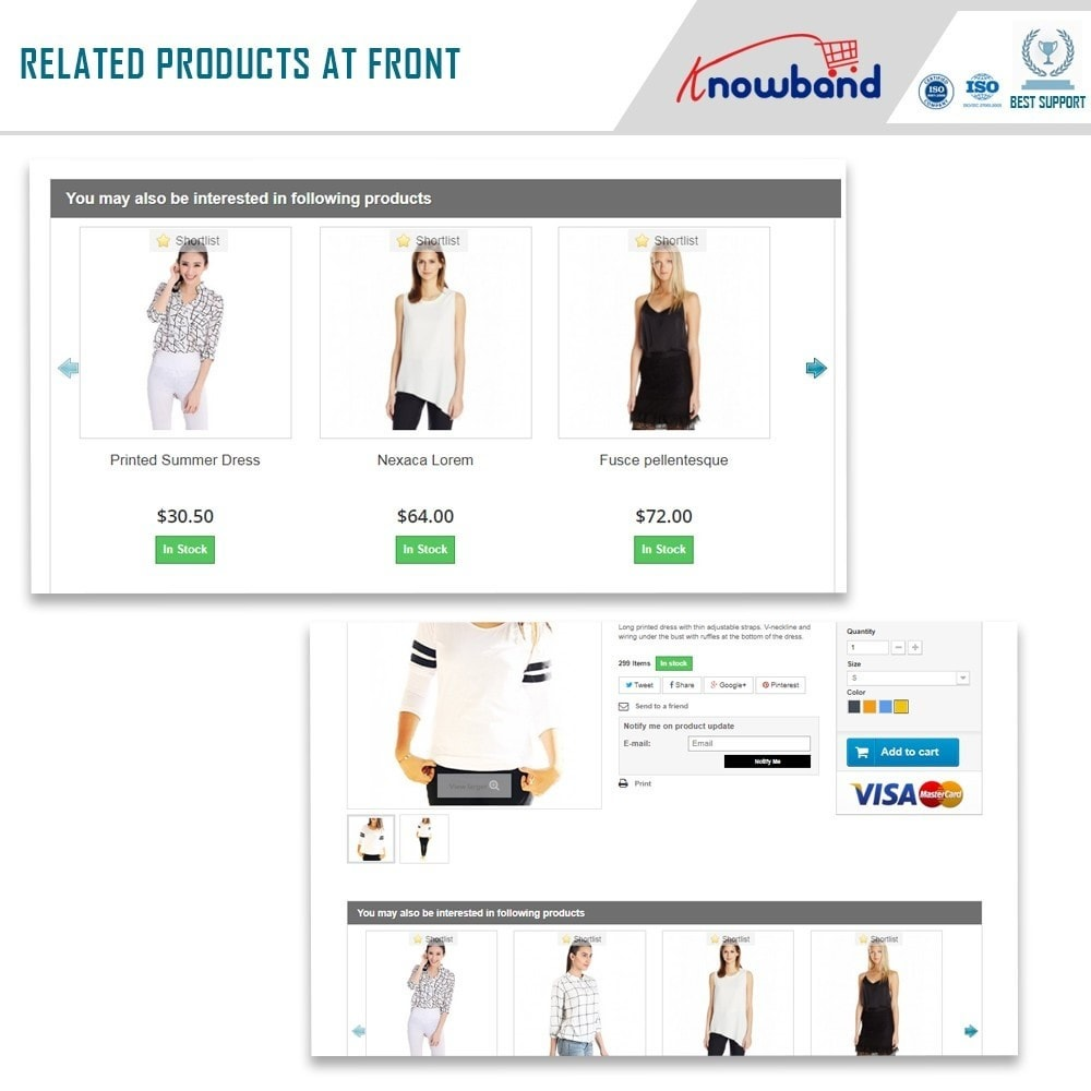 module - Cross-selling & Product Bundles - Knowband - Automatic Related Products - 2