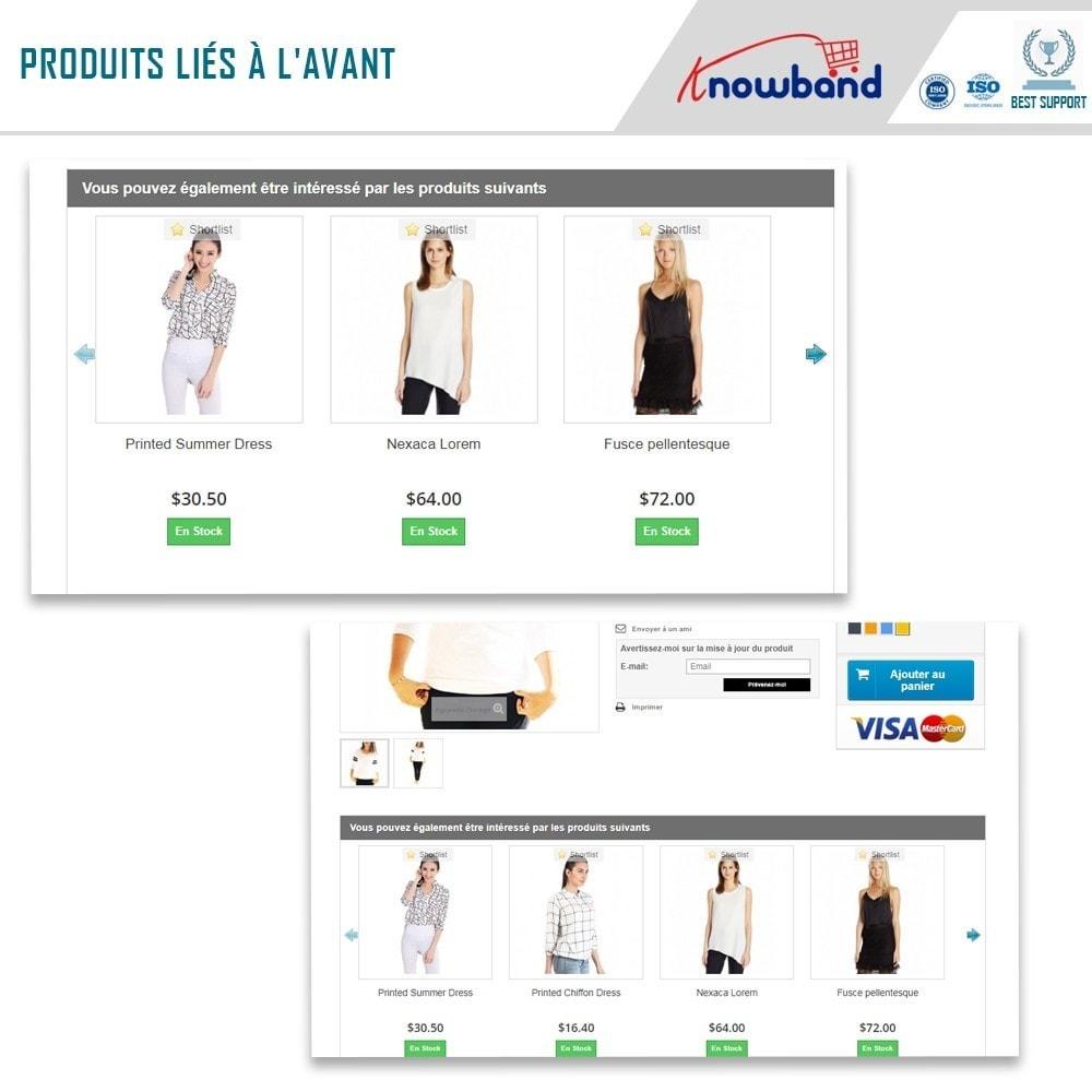 module - Ventes croisées & Packs de produits - Knowband - Produits Similaires Automatiques - 2