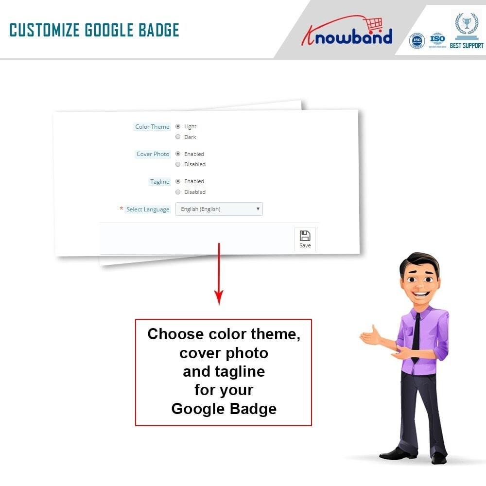 module - Widgets de Redes Sociais - Knowband - Emblema Google Plus - 6