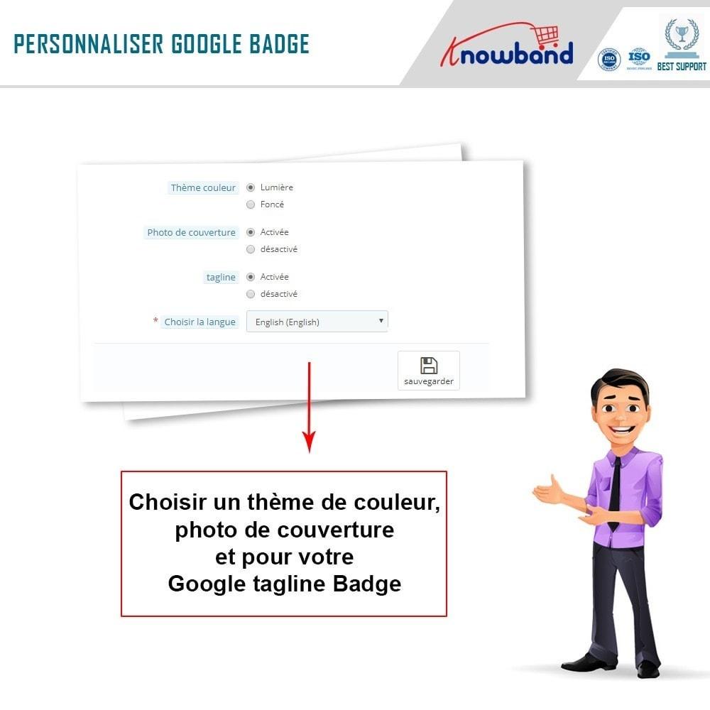 module - Widgets réseaux sociaux - Knowband - Badge Google Plus - 6