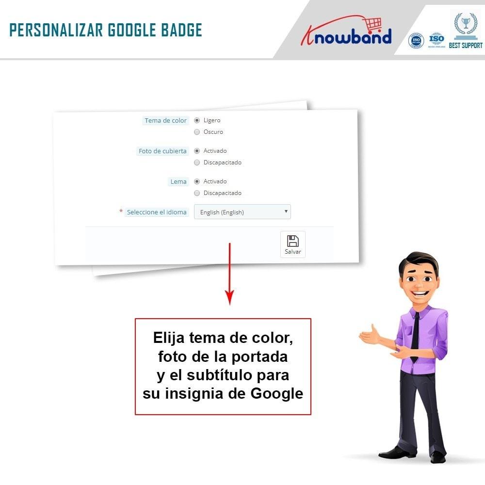 module - Widgets para redes sociales - Knowband - Insignia de Google Plus - 6