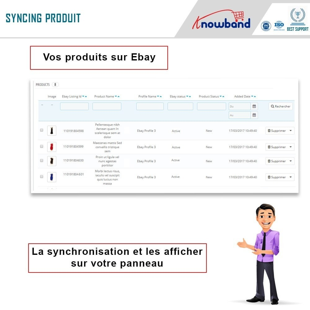 module - Marketplaces - Knowband- Intégration de la Marketplace Ebay - 6