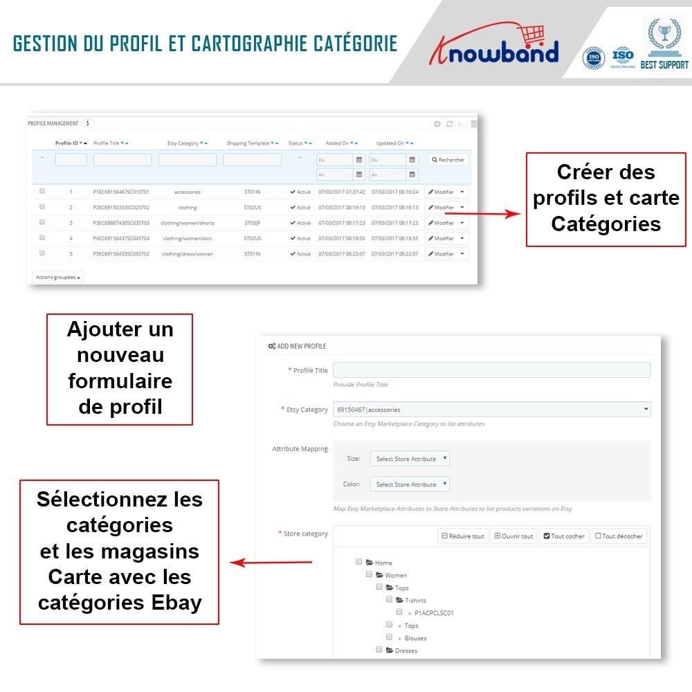 module - Marketplaces - Knowband - Intégration de la Marketplace Etsy - 6