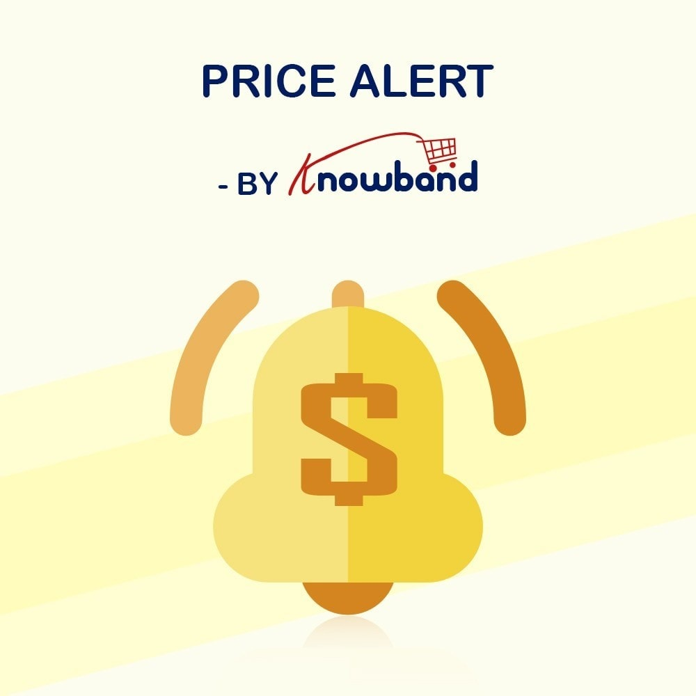 module - Price Management - Knowband - Price Alert - Notify customers - 1