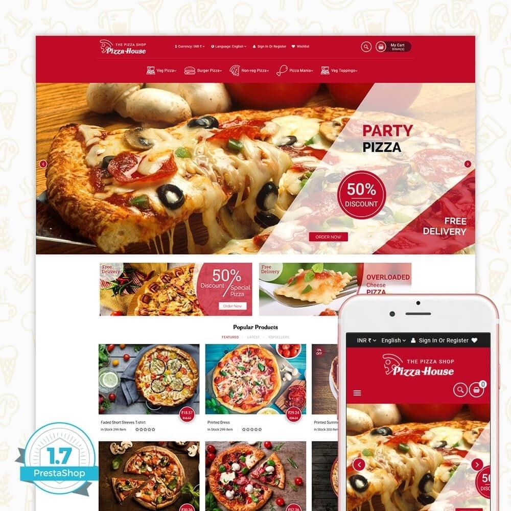 theme - Alimentation & Restauration - Pizza House Store - 1
