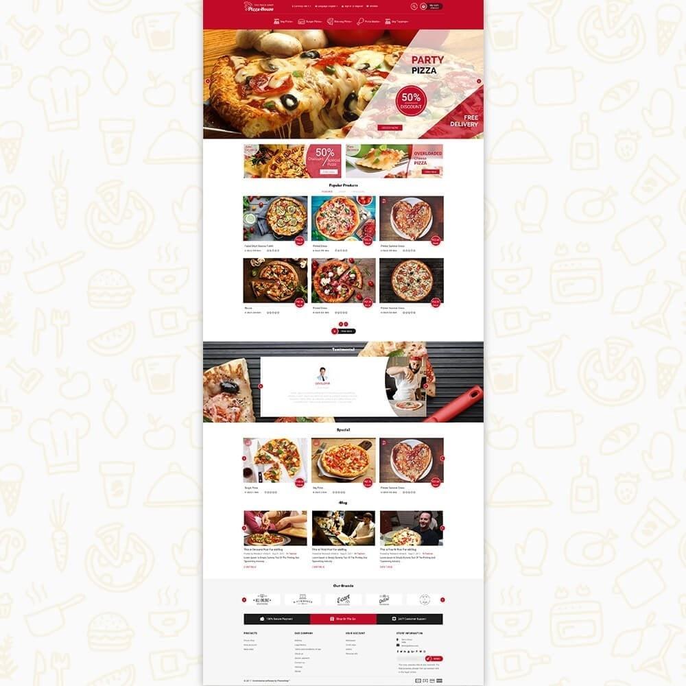 theme - Alimentation & Restauration - Pizza House Store - 2