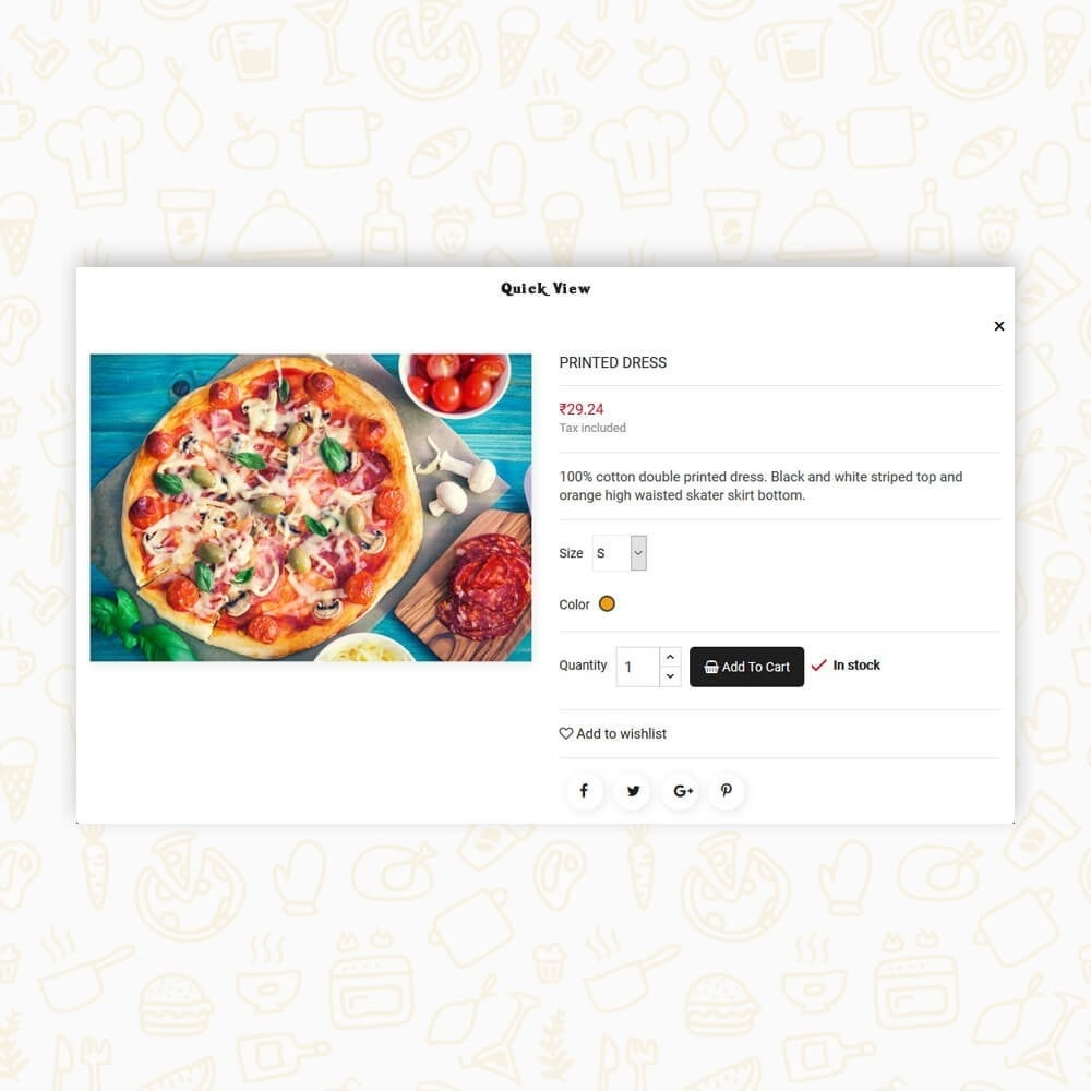 theme - Alimentation & Restauration - Pizza House Store - 8