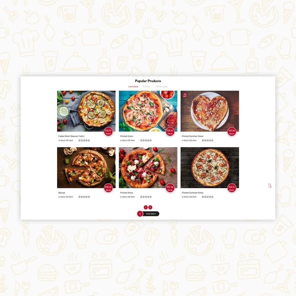 theme - Alimentation & Restauration - Pizza House Store - 9