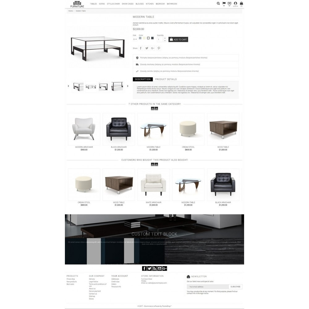 theme - Dom & Ogród - Universal Furniture - 5