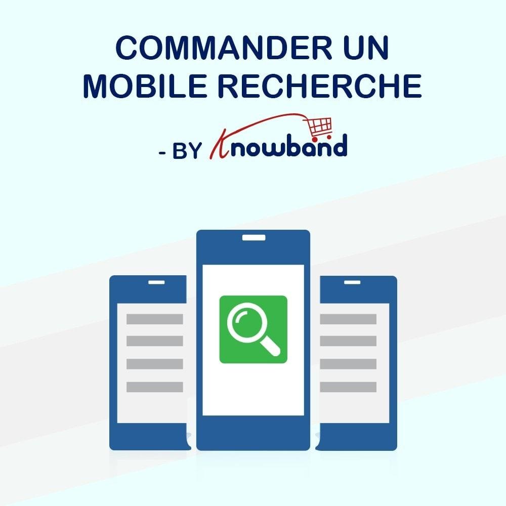 module - Gestion des Commandes - Knowband - Suivi de Commande Mobile - 1