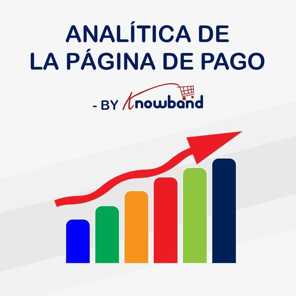 module - Informes y Estadísticas - Knowband - Analítica de la página de pago - 1
