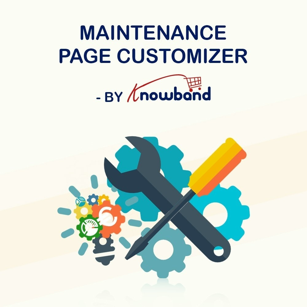 module - Page Customization - Knowband - Maintenance Page Customizer - 1
