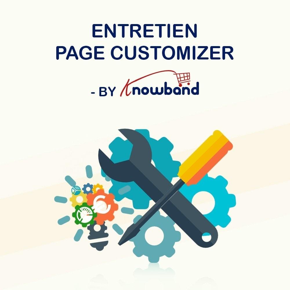 module - Personnalisation de Page - Knowband - Personnalisation de la  Page de Maintenance - 1