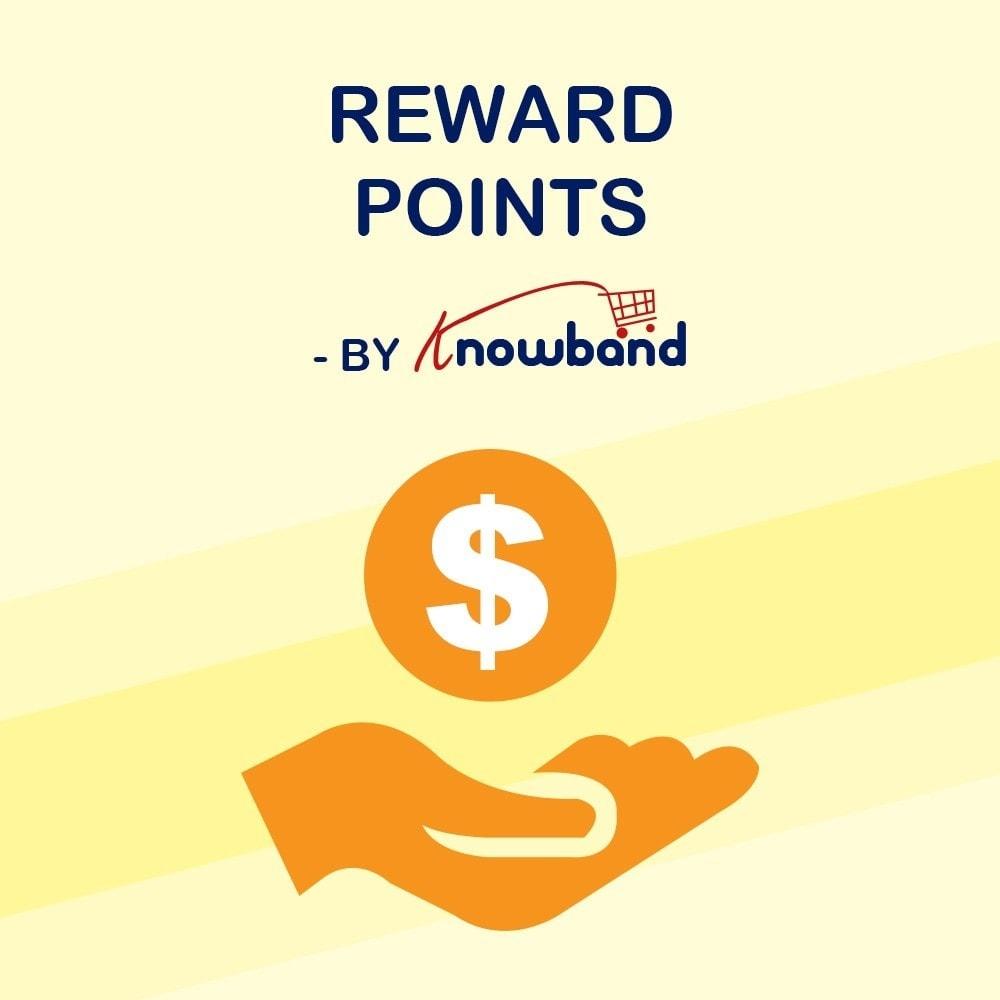 module - Referral & Loyalty Programs - Knowband - Reward points - 1