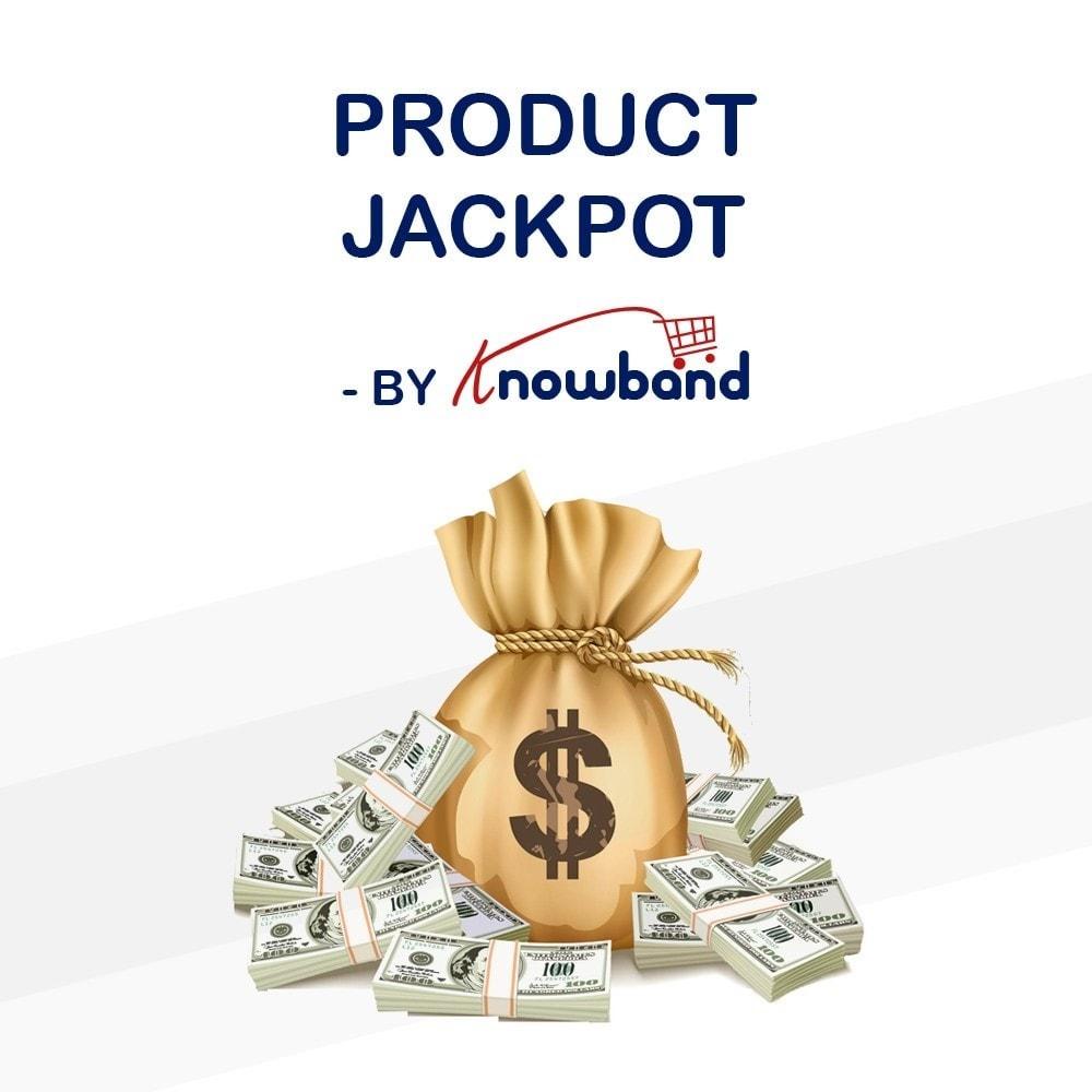 module - Promoties & Geschenken - Knowband - Product Jackpot - 1