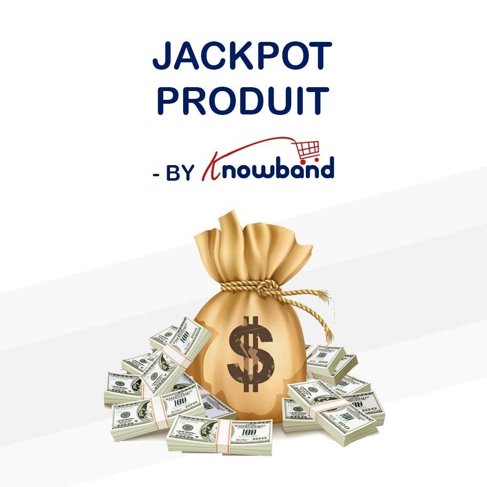 module - Promotions & Cadeaux - Knowband - Jackpot Produit - 1