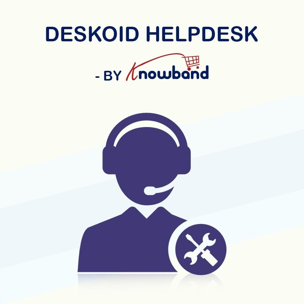 module - Customer Service - Knowband - Deskoid Helpdesk - 1