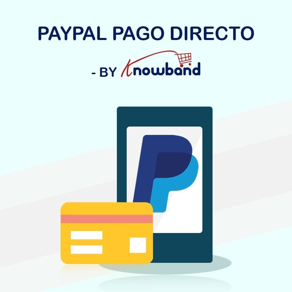 module - Pago con Tarjeta o Carteras digitales - Knowband - Pago Directo por PayPal - 1
