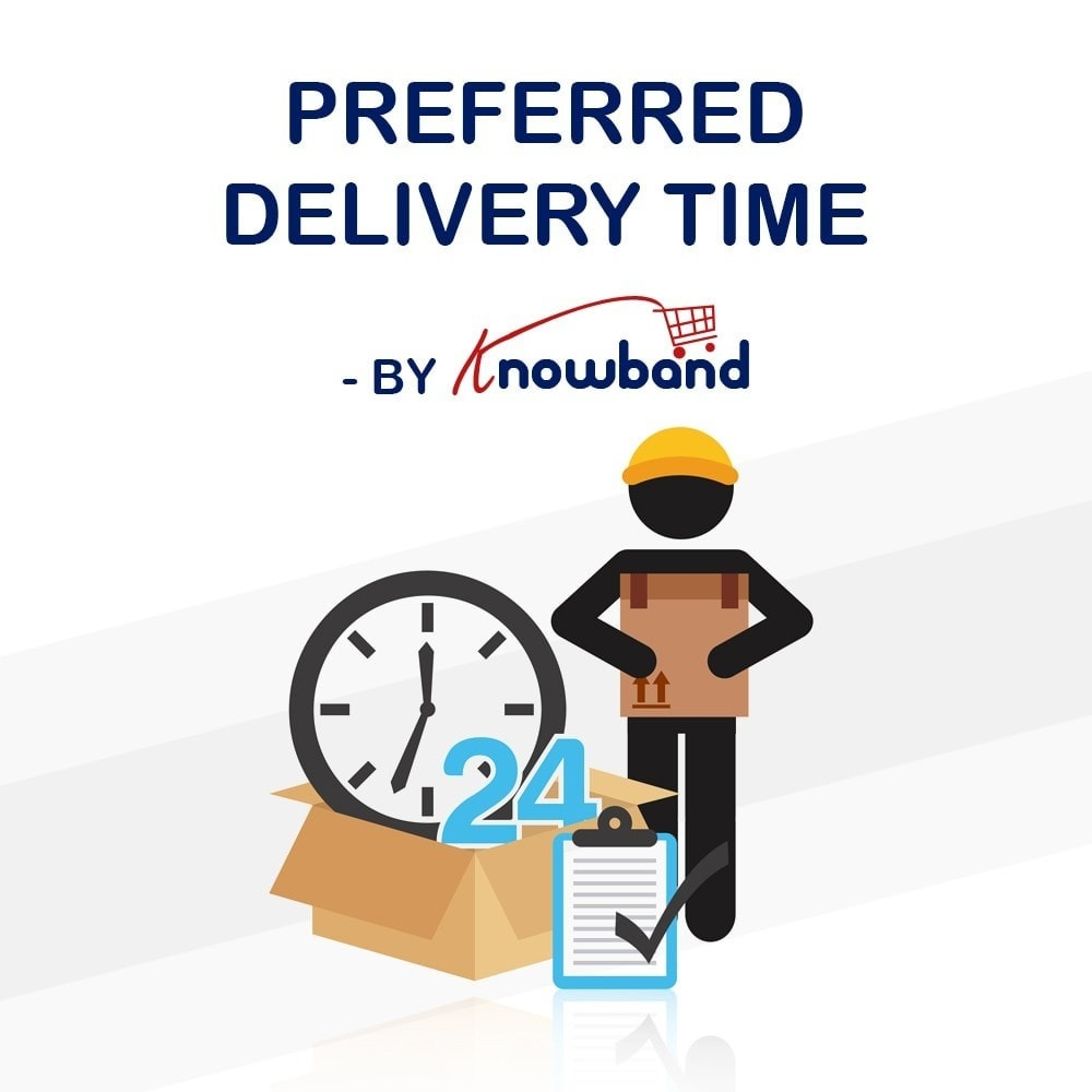 module - Data de entrega - Knowband - Preferred Delivery Time - 1