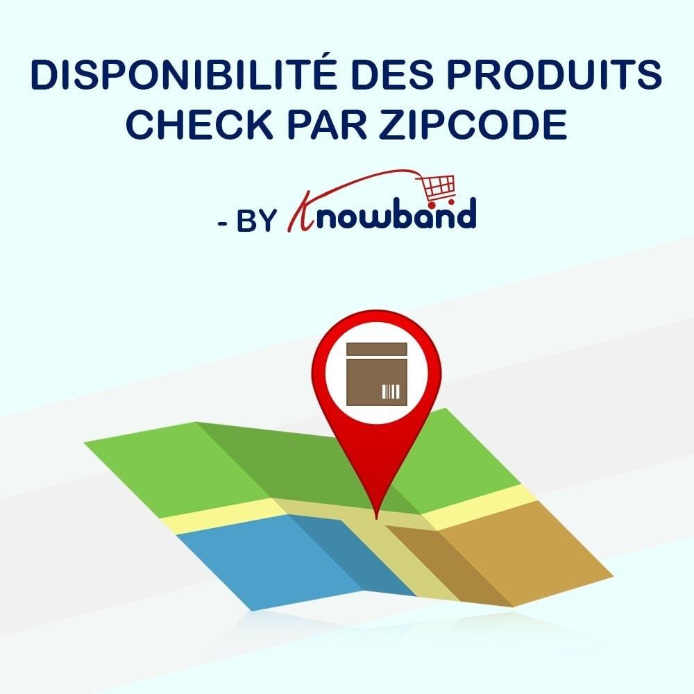 module - International & Localisation - Knowband - Disponibilité de produit par code postal - 1