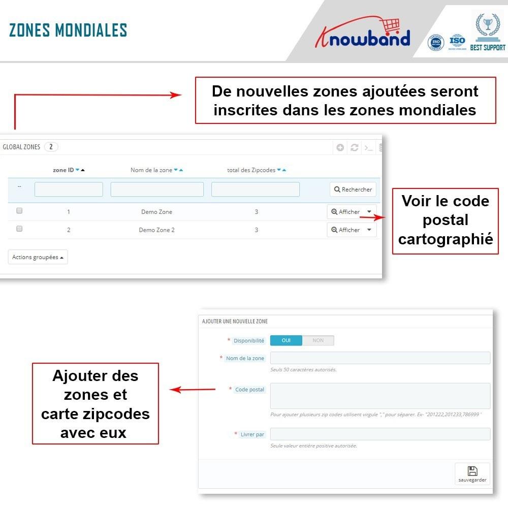 module - International & Localisation - Knowband - Disponibilité de produit par code postal - 5