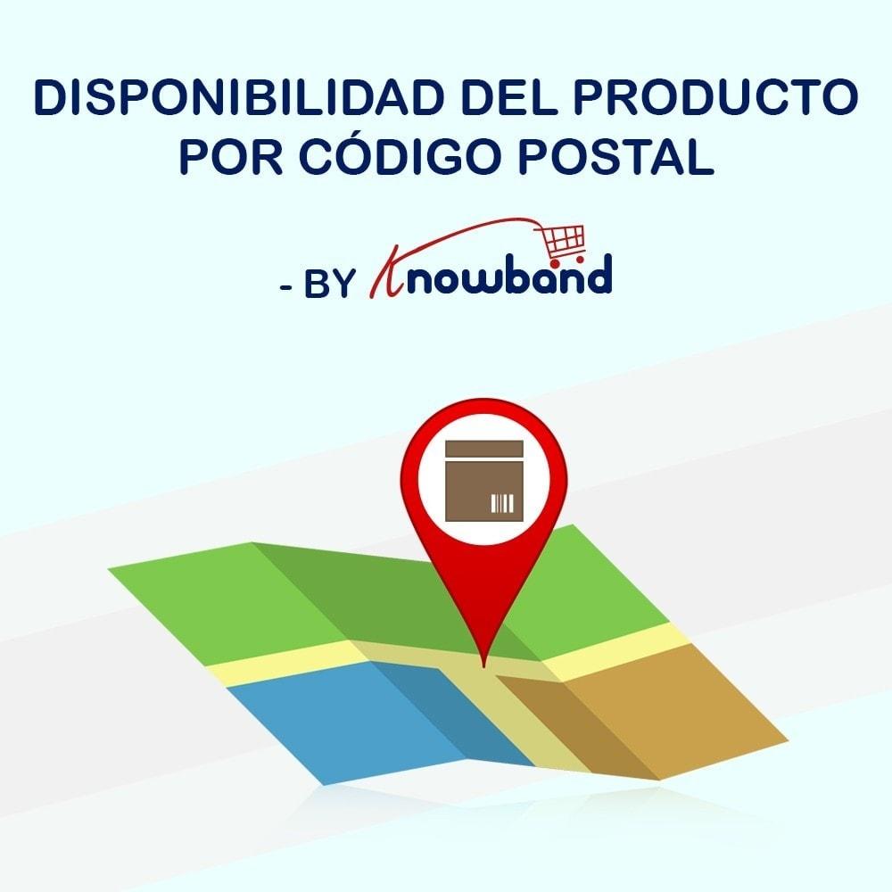 module - Internacionalización y Localización - Knowband- Disponibilidad de productos por código postal - 1