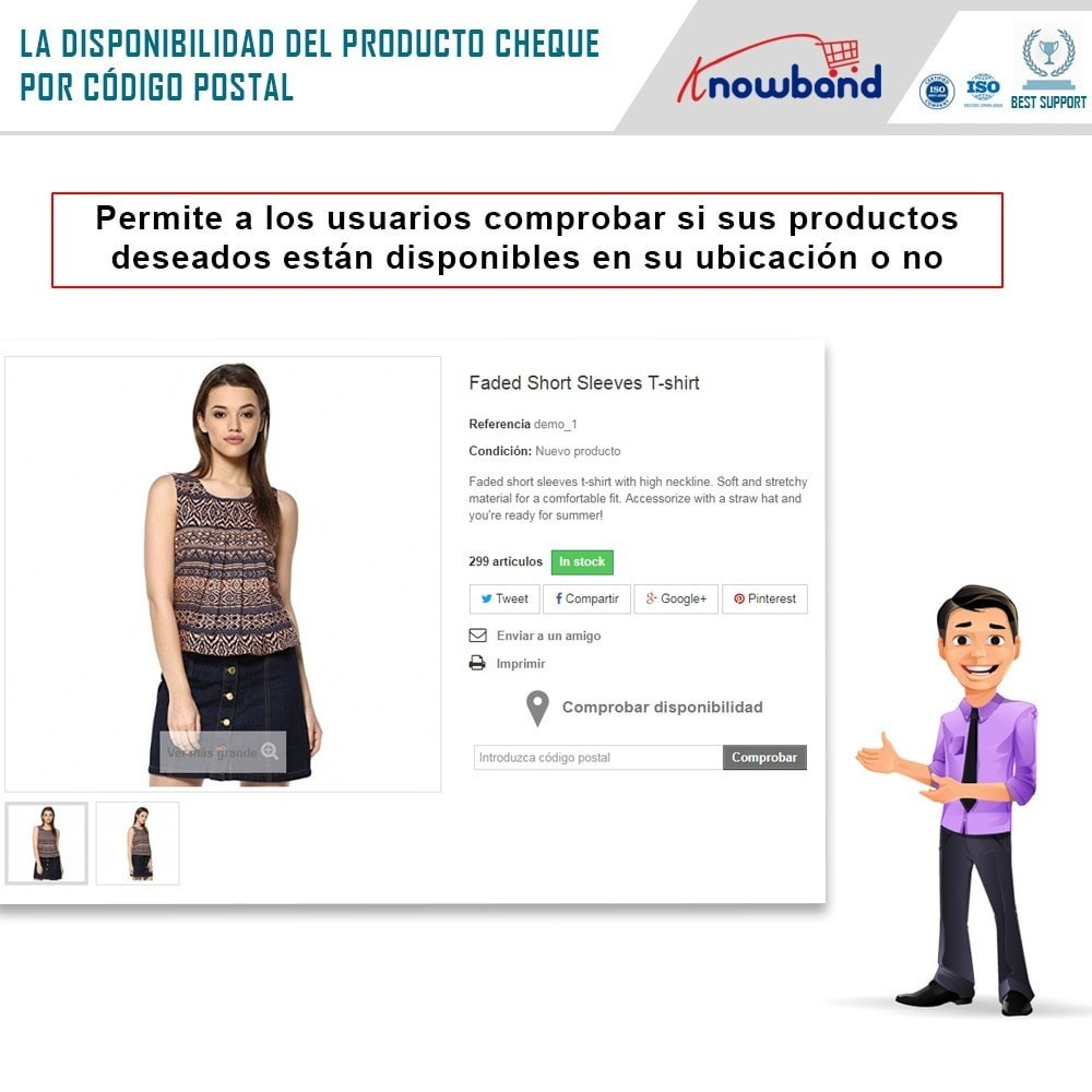 module - Internacionalización y Localización - Knowband- Disponibilidad de productos por código postal - 2