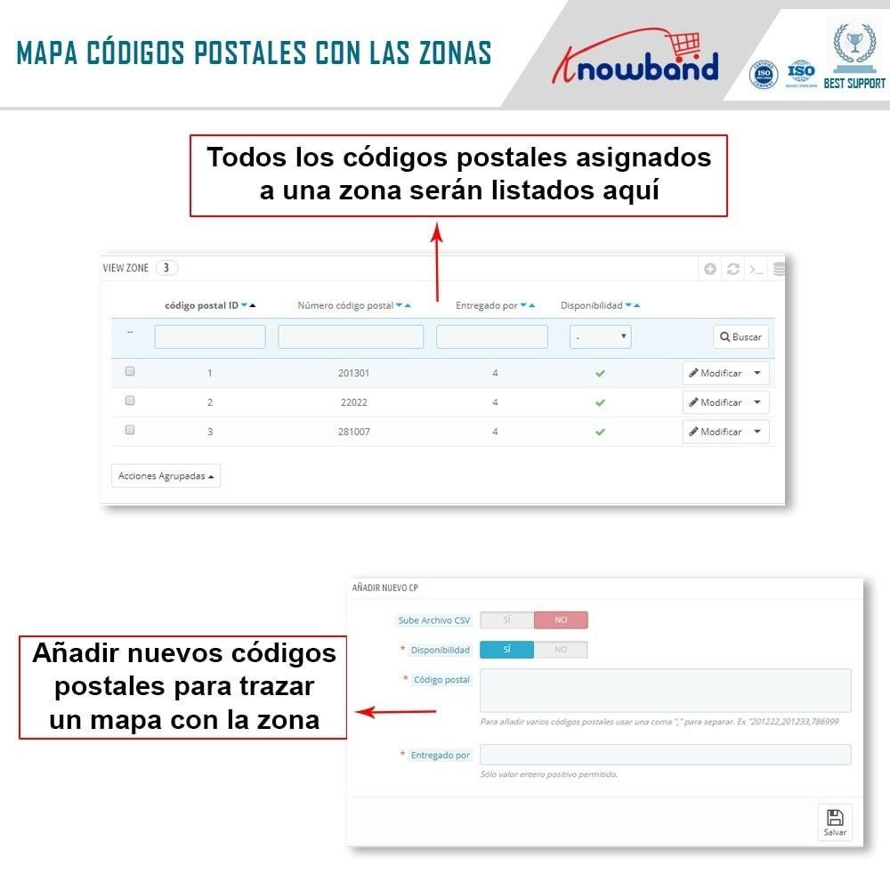 module - Internacionalización y Localización - Knowband- Disponibilidad de productos por código postal - 6