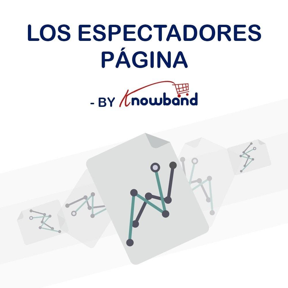 module - Informaciones adicionales y Pestañas - Knowband - Contador de visualizaciones de la página - 1