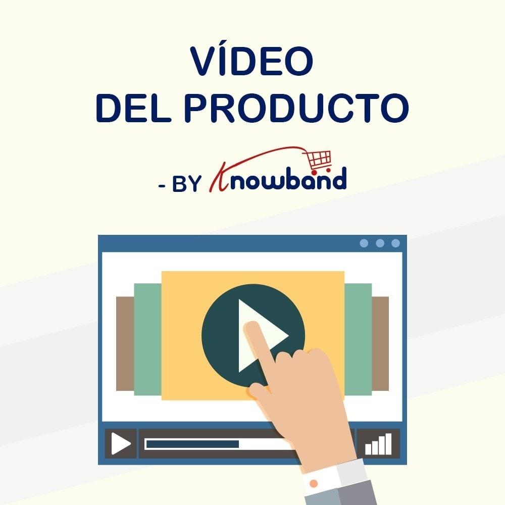 module - Vídeos y Música - Knowband - Video del Producto - 1
