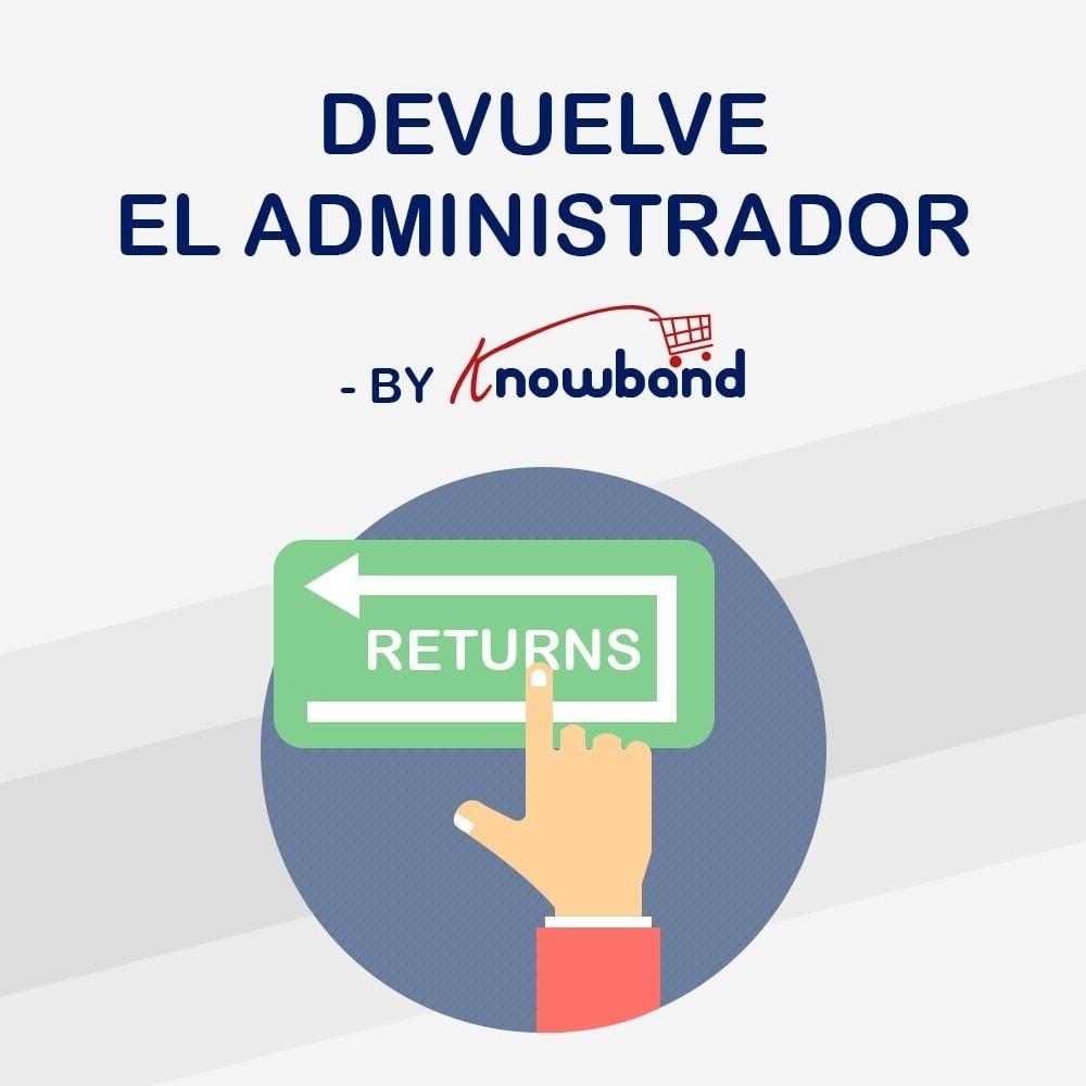 module - Servicio posventa - Knowband - Gestor de Devolución de Pedidos - 1
