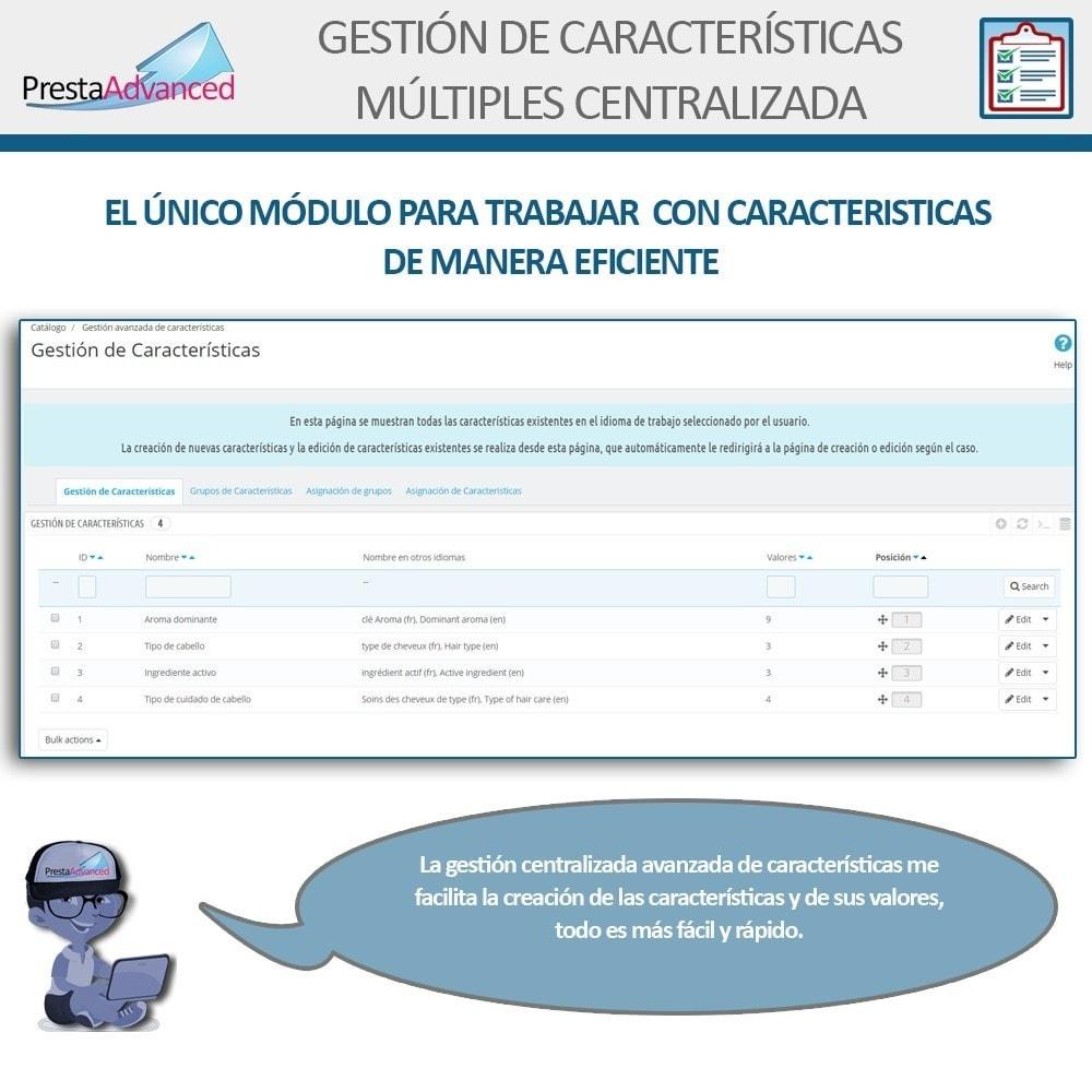 module - Edición Rápida y Masiva - Características: Gestión Avanzada Centralizada - 3