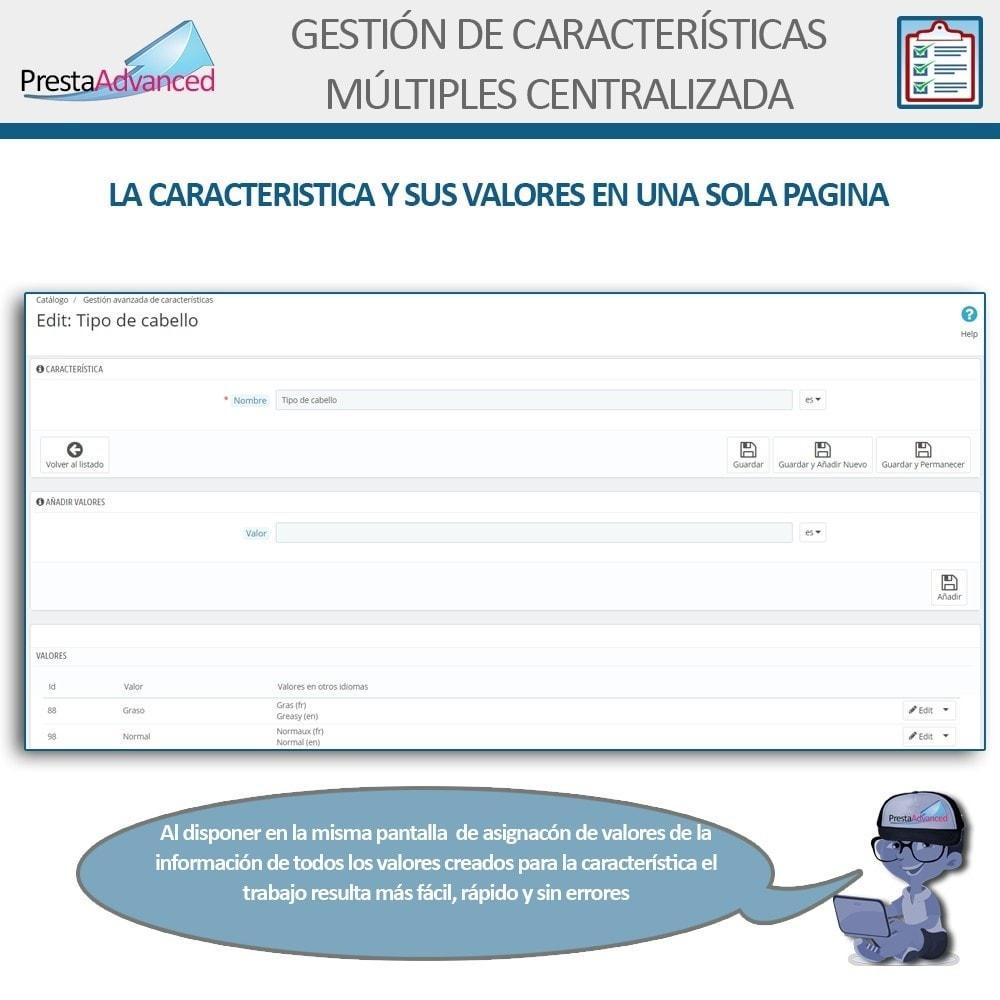 module - Edición Rápida y Masiva - Características: Gestión Avanzada Centralizada - 4