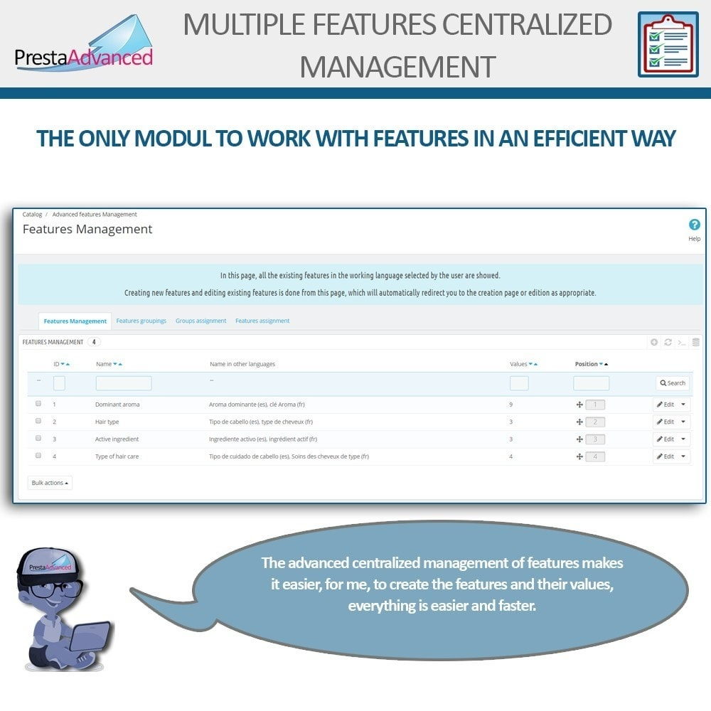 module - Fast & Mass Update - Features: Centralized Advanced Management - 3