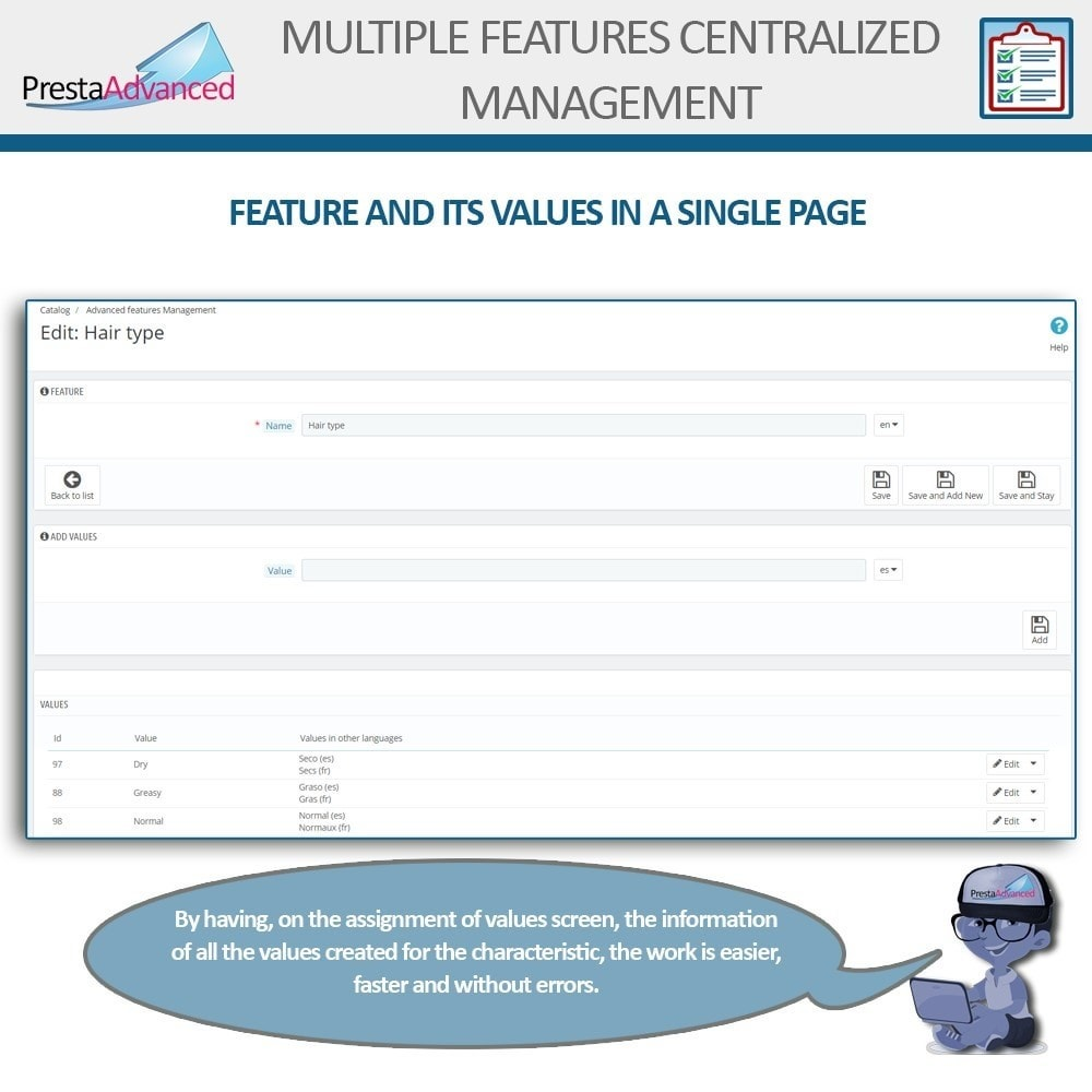 module - Fast & Mass Update - Features: Centralized Advanced Management - 4