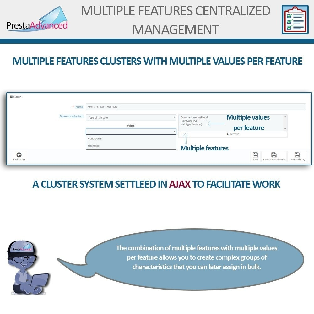 module - Fast & Mass Update - Features: Centralized Advanced Management - 6