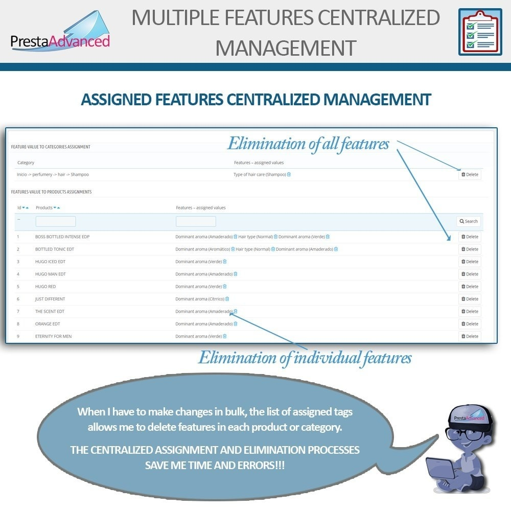 module - Fast & Mass Update - Features: Centralized Advanced Management - 10