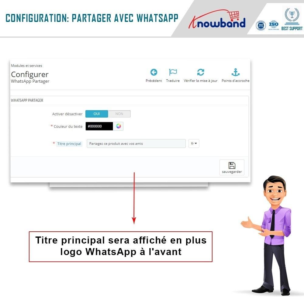 module - Boutons de Partage & Commentaires - Knowband - Partager sur WhatsApp - 3
