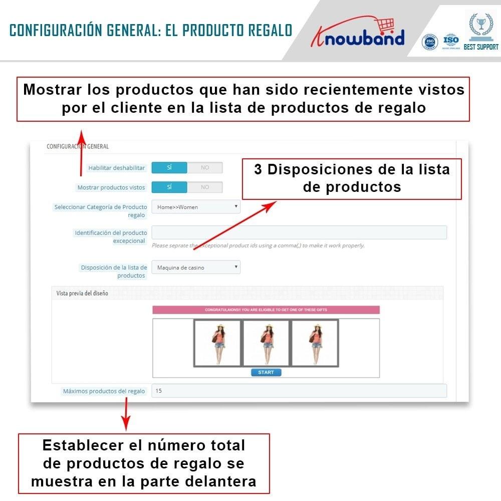 module - Promociones y Regalos - Knowband - Producto regalo - 5