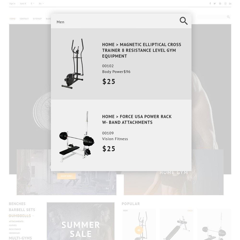 theme - Sport, Loisirs & Voyage - GymHulk - Gym Equipment - 2