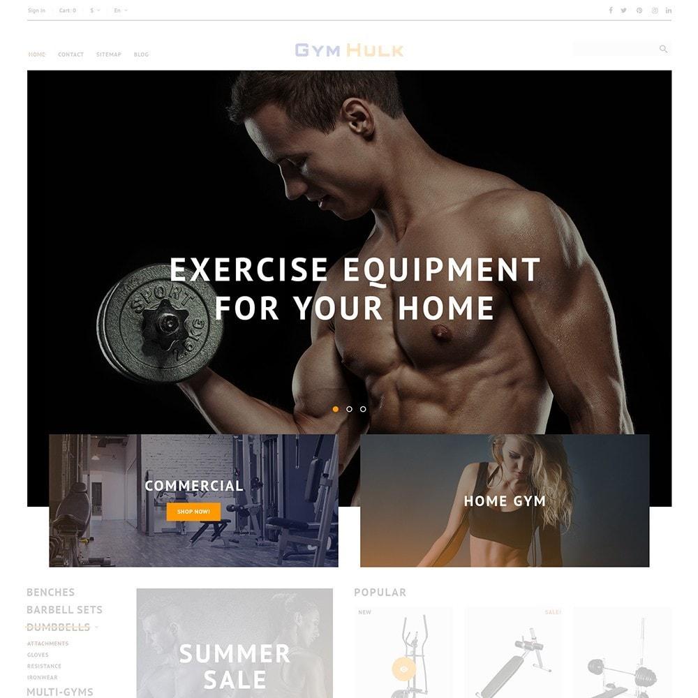 theme - Sport, Loisirs & Voyage - GymHulk - Gym Equipment - 3